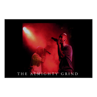 The Almighty Grind - Live on Stage 001 Poster