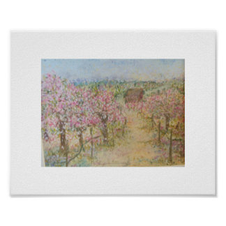 The Almond Orchard Posters
