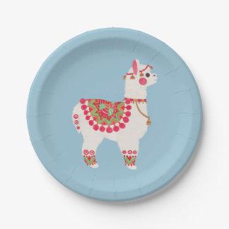 The Alpaca 7 Inch Paper Plate