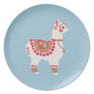 The Alpaca Party Plates
