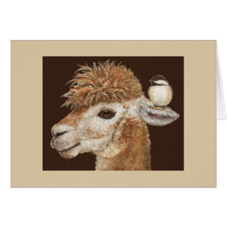 The Alpaca Whisperer card