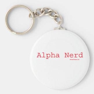The Alpha Nerd Keychain