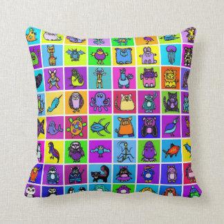 """the alphabet book"" pillow"