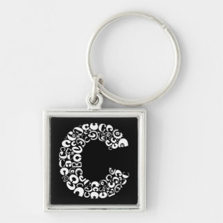 The Alphabet Letter C Keychain
