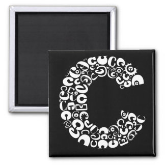 The Alphabet Letter C Magnet