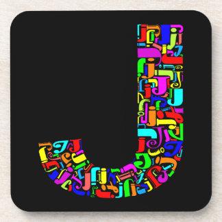 The Alphabet Letter J Coaster