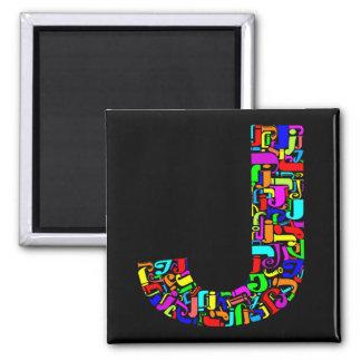 The Alphabet Letter J Magnet