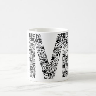 The Alphabet Letter M Coffee Mug