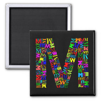 The Alphabet Letter M Magnet