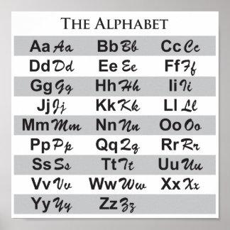 The Alphabet - Poster