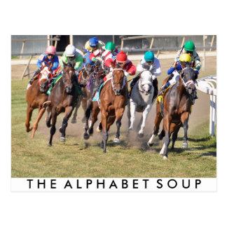 The Alphabet Soup Postcard