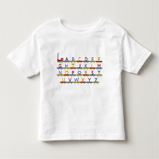 The Alphabet Train Toddler T-shirt
