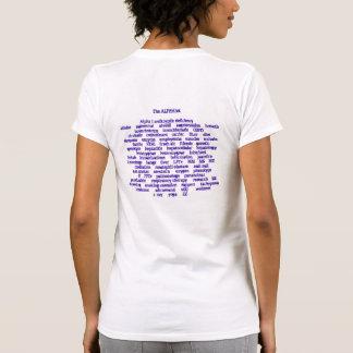 The ALPHAbet Tee Shirts