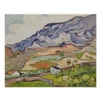 The Alpilles, 1890 Posters