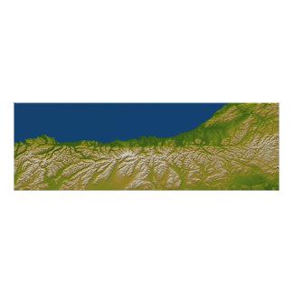 The Alpine fault along the west coast Photo Print