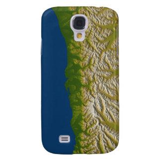 The Alpine fault along the west coast Samsung S4 Case