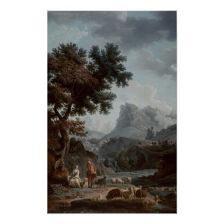The Alpine Shepherdess Poster