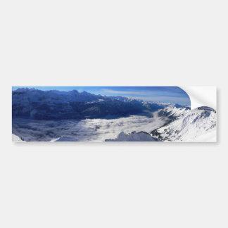 The Alps Bumper Sticker