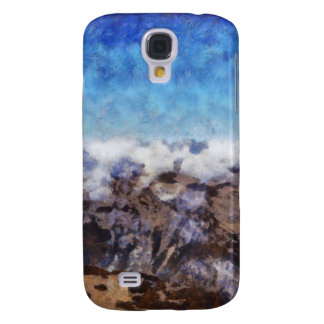 The Alps from overhead Galaxy S4 Case