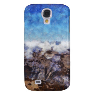 The Alps from overhead Samsung Galaxy S4 Cover