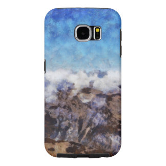 The Alps from overhead Samsung Galaxy S6 Cases