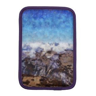 The Alps from overhead Sleeve For iPad Mini