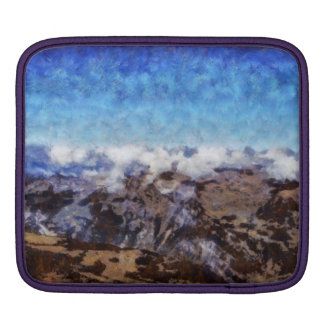 The Alps from overhead Sleeve For iPads