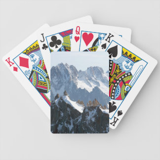 The Alps - magnificent! Bicycle Playing Cards