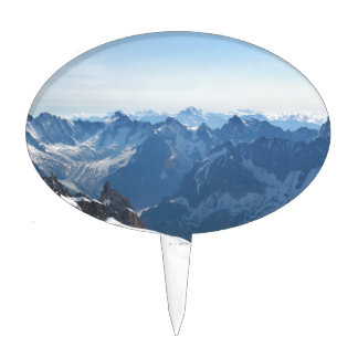 The Alps - magnificent! Cake Picks