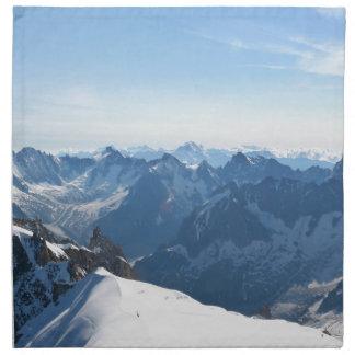 The Alps - magnificent! Cloth Napkin