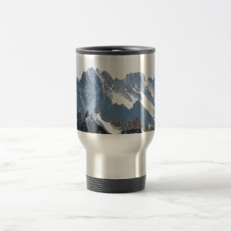 The Alps mountain range - Stunning! 15 Oz Stainless Steel Travel Mug