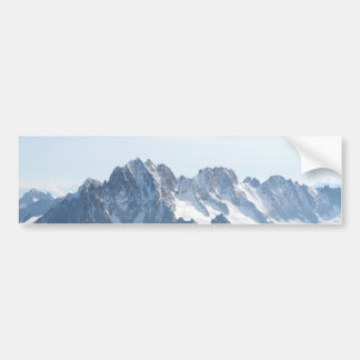 The Alps mountain range - Stunning! Car Bumper Sticker