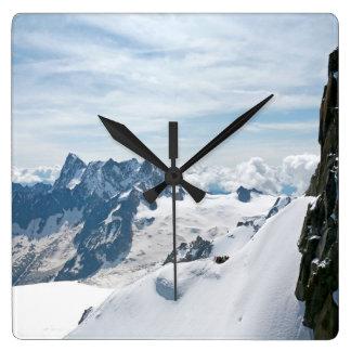 The Alps mountain range - Stunning Clocks