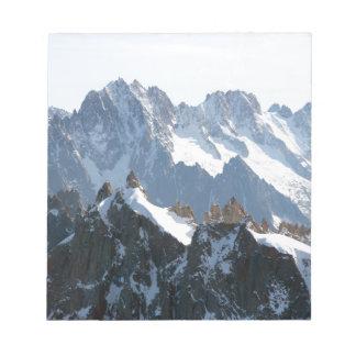 The Alps mountain range - Stunning! Memo Note Pad