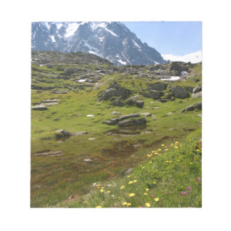 The Alps mountain range - Stunning! Memo Notepads