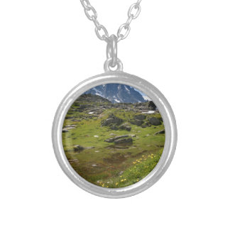The Alps mountain range - Stunning! Personalized Necklace