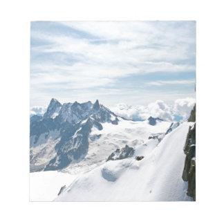 The Alps mountain range - Stunning! Note Pad