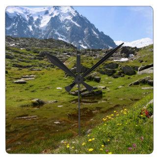 The Alps mountain range - Stunning Wall Clock