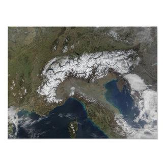 The Alps Photo Print