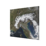 The Alps Stretched Canvas Prints
