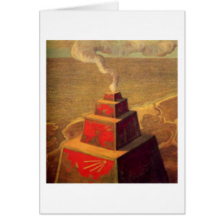The Altar by M.K. Ciurlionis, 1909 Card