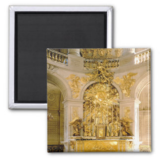 The Altar in the Royal Chapel (photo) 2 Inch Square Magnet