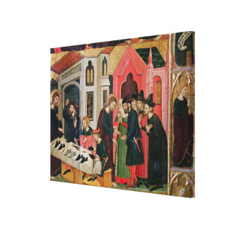 The Altarpiece of SS. Mark and Ania Canvas Print