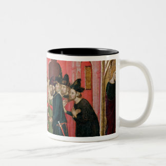 The Altarpiece of SS. Mark and Ania Two-Tone Coffee Mug
