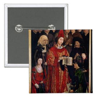 The Altarpiece of St. Vincent Button
