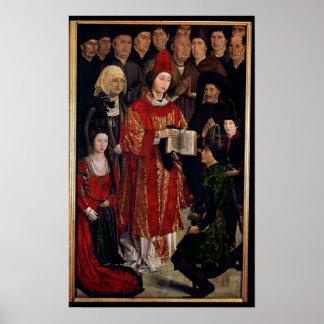 The Altarpiece of St. Vincent Poster