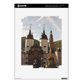 The Alte Brucke in Old Town, Heidelberg, Germany iPad 3 Decal