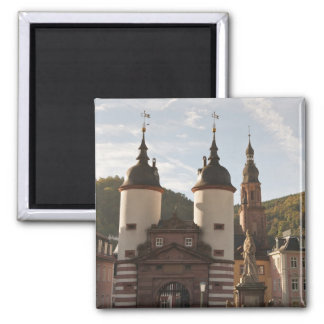 The Alte Brucke in Old Town, Heidelberg, Germany Magnet