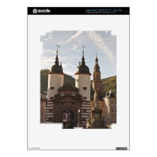 The Alte Brucke in Old Town, Heidelberg, Germany iPad 3 Decal