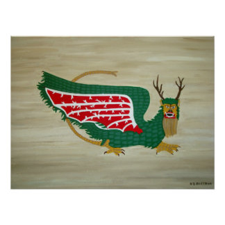 The Alton Piasa Bird Poster